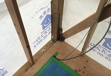柱などの耐震補強工事