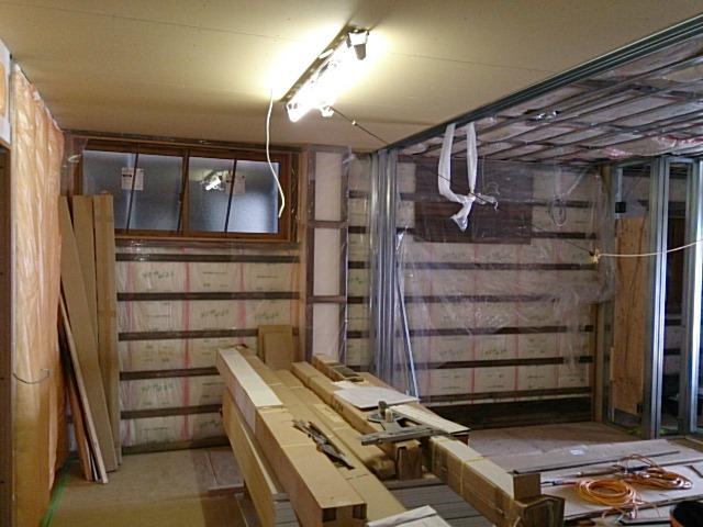 鉄骨造の倉庫を住宅に改装(社内品質管理実施物件)の画像